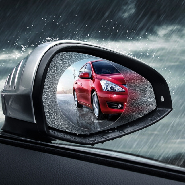 Rain Shield Screen Film for Side Mirror