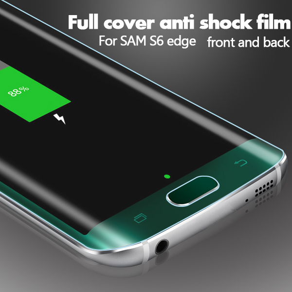 S6 edge Full Cover Screen Protector Availabe in Fomax