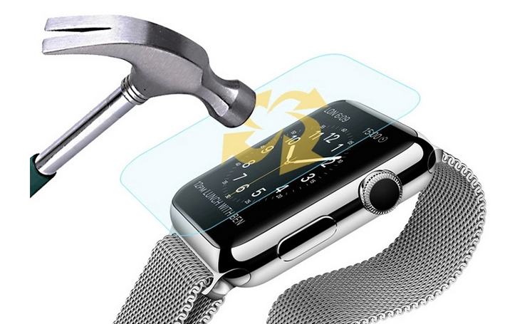amti-scratch tempered glass in fomax for iwatch