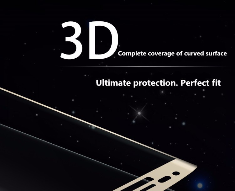 3D curved glas S6 edge plus full coverage