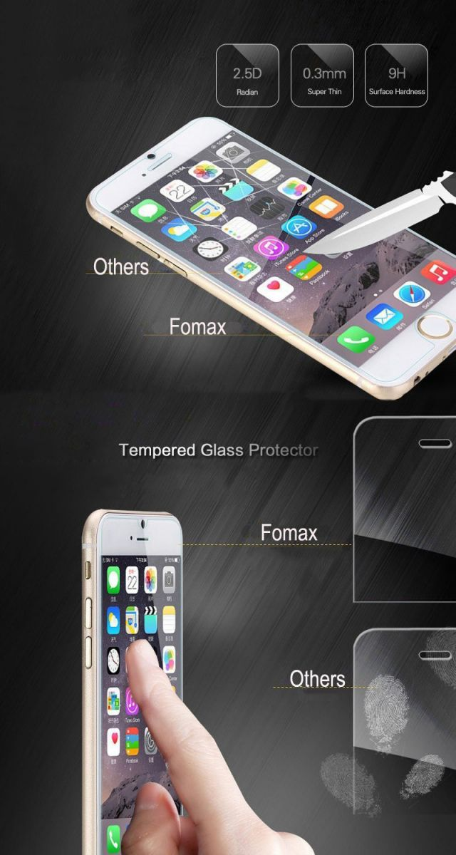 Fomax tempered glass for huawei mate S
