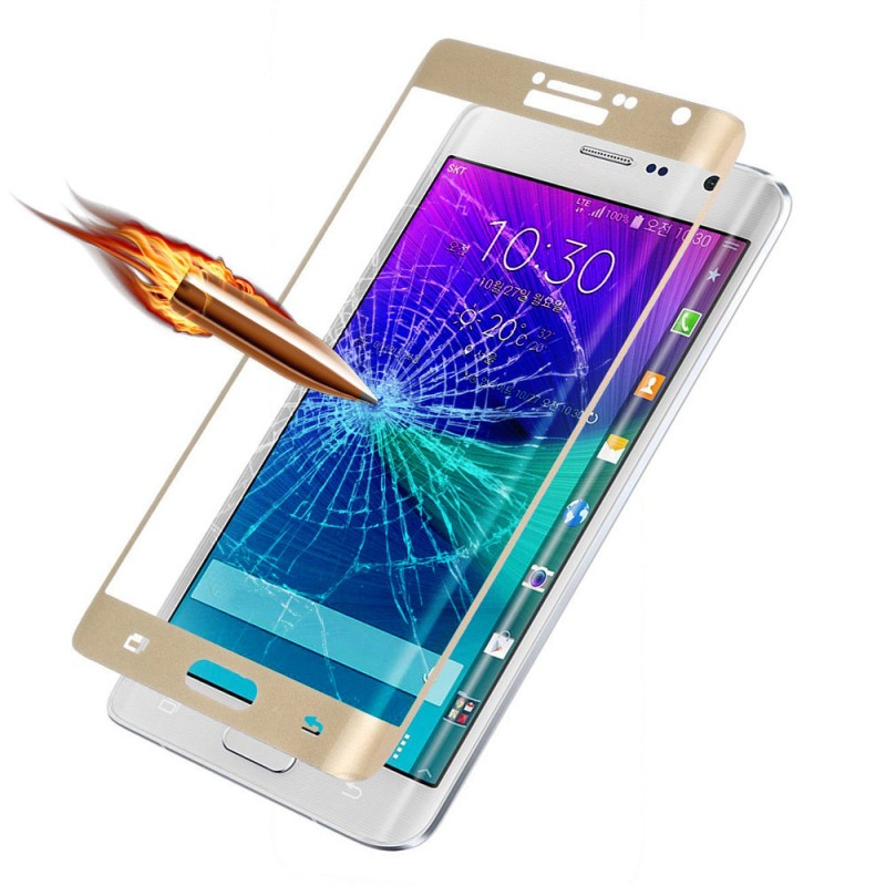 samsung note edge 3d curved glass made by fomax
