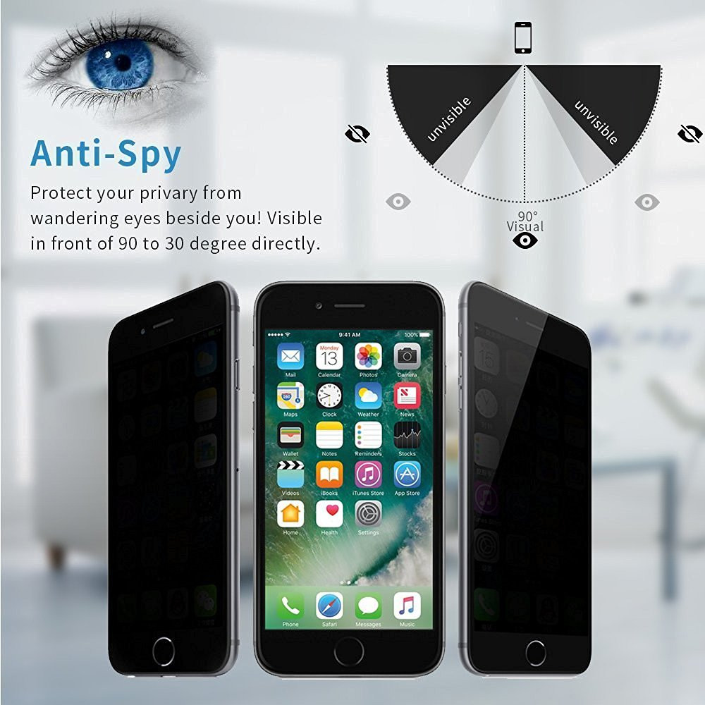 privacy anti-spy tempered glass