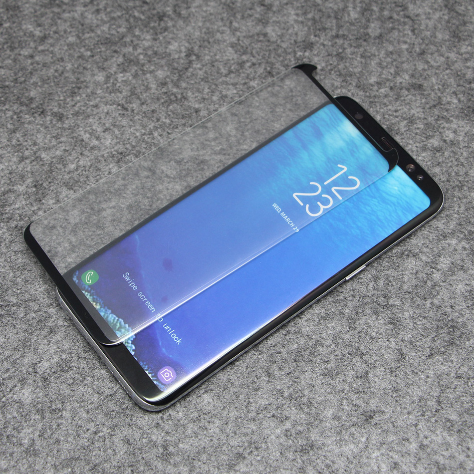 fomax glass samsung s8 small size tempered glass