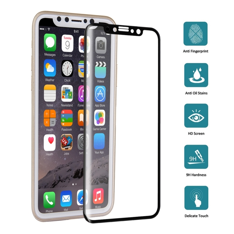 iPhone 8 Tempered Glass 3D full coverage