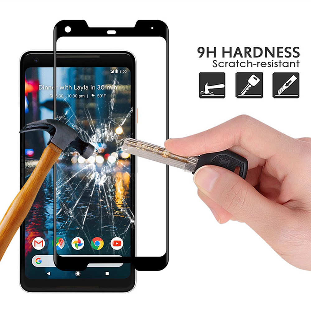 Google Pixel 2 XL 3D Curved Tempered Glass Factory
