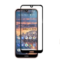 2019 Nokia 3.2 tempered glass screen protector full coverage