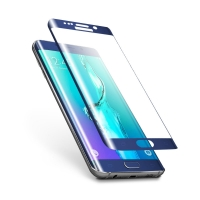 Samsung S6 edge plus 3D Curved Edge Electroplating Tempered Glass Screen Guard Protector