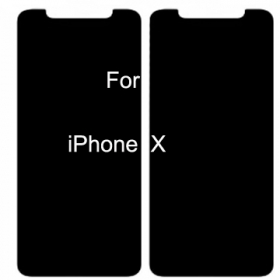 iPhone X Privacy Anti-spy Tempered Glass Screen Protector