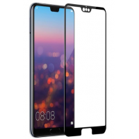 3D curved tempered glass full transparent screen flim for Huawei P20