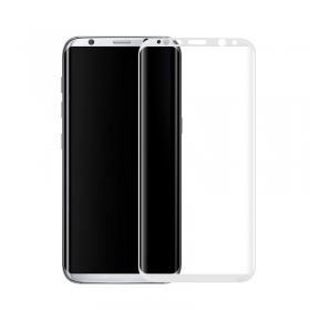 Samsung Galaxy S8 tempered glass 3D curved full display protective screen wholesale