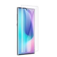 Samsung Note 10 Plus full glue UV curved tempered glass screen protector