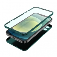 360 full body protection case combined tempered glass with camera protection iPhone 12