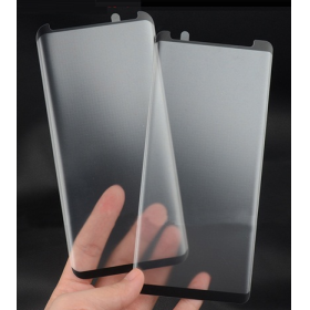 3D Full Curved Coverage Matte Anti Glare Tempered Glass Screen Protector for Samsung Galaxy S9 Case Frindly