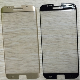 S7 edge small size 3D tempered glass