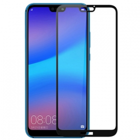 Huawei P20 lite protection glass screen full coverage film explosion proof 3D curved tempered glass