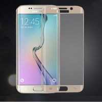 Samsung Galaxy S6 Edge Curved Glass Full Coverage Tempered Glass Screen Protector