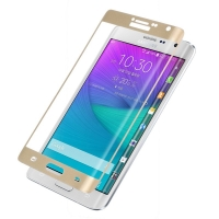 Curved 3D Glass Samsung Note edge Tempered Glass Screen Protector Shield