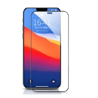 iPhone 12 Pro tempered glass screen protector full coverage 6.1