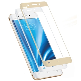 Vivo X7  Plus Full Display 9H Curved Tempered Glass Screen Protector