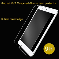 Fomax iPad mini 3 screen Protector Premium Tempered Glass
