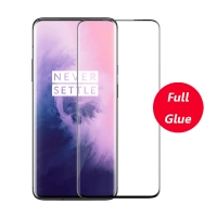 OnePlus 8 Pro 3D Curved Full Glue Tempered Glass Screen Protector