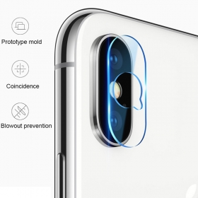 iPhone XS Max rear camera lens tempered glass screen protector film