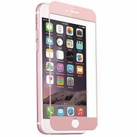 Full Coverage Golden Tempered Glass Screen Protective Film for iPhone 6s