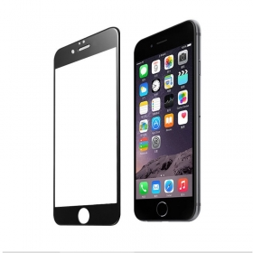 iPhone 6 Full Coverage 3D Tempered Glass Screen Protector