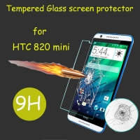 Fomax 9h Hardness Premium Tempered Glass Screen Protector Real Explosion-proof for HTC 820 MINI