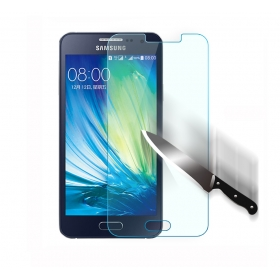 Samsung Galaxy A3 Ultra Thin HD Clear Round Border Tempered Glass Film Screen Protector