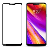 Full cover tempered glass screen protector for LG G7 anti explosion glass film