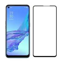 OPPO A53 2020 tempered glass screen protector film Black