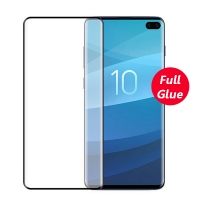 Samsung S10 Plus 3D Curved Full Glue Tempered Glass Screen Protector